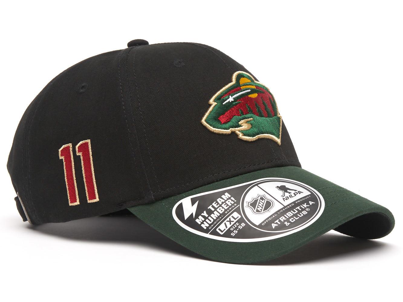 Бейсболка NHL Minnesota Wild № 11
