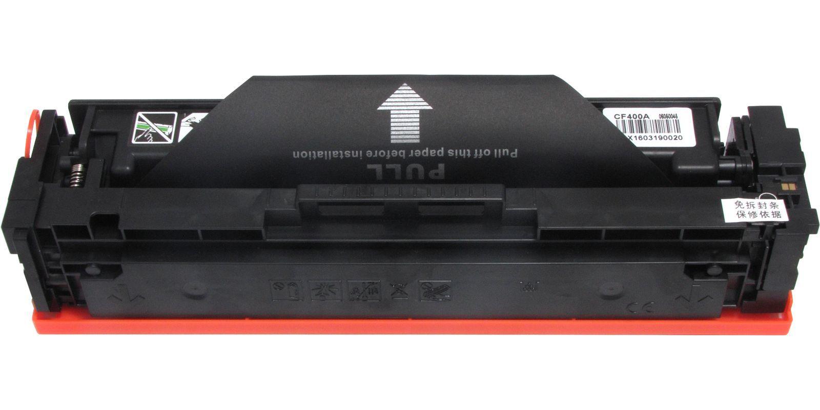 Картридж лазерный цветной MAK© 201A CF400A черный (black), до 1500 стр.