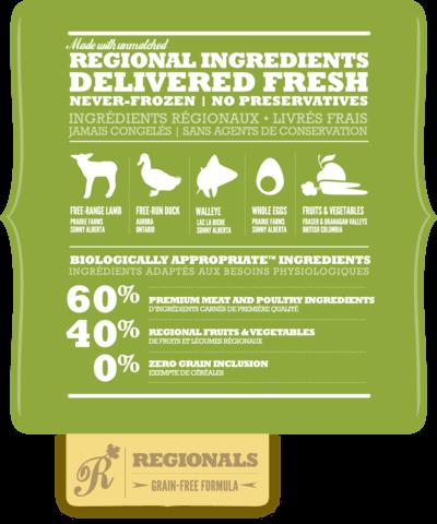 Купить беззерновой корм Акана для собак Acana REGIONALS Grasslands