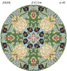 Эскиз для росписи, Круг диаметр-47,5см, SMAR-st-40