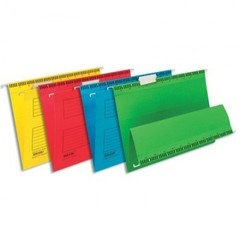 Подвесная регистратура папка BANTEX желтая А4, 25 шт. Дания 100331433/34600