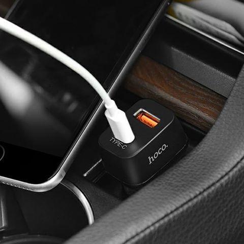 Купить автомобильную зарядку Hoco Z15