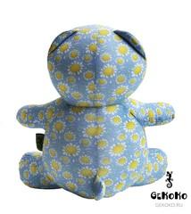 Подушка-игрушка антистресс Gekoko «МиниМишка Ромашковый» 4