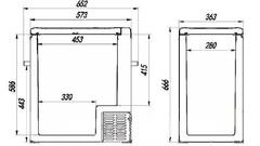 Купить Компрессорный автохолодильник Alpicool ACS-75 от производителя недорого.