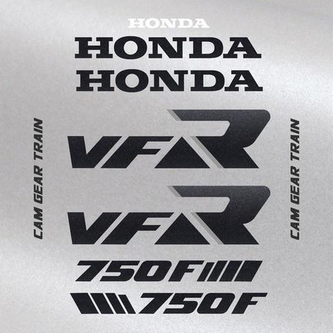 Набор виниловых наклеек на мотоцикл HONDA VFR 750 1988