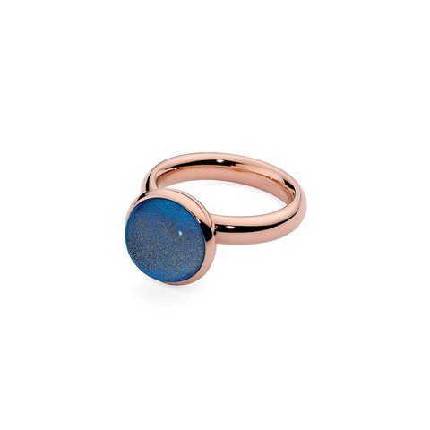 Кольцо Caneva Big dark blue 654214/17.2 BL/RG
