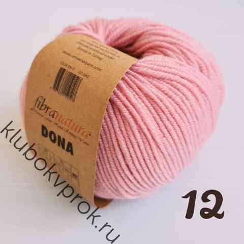 FIBRA NATURA DONA 106-12, Пыльный розовый