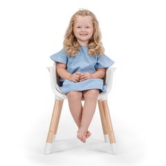 Стульчик для кормления Kinderkraft Sienna Grey