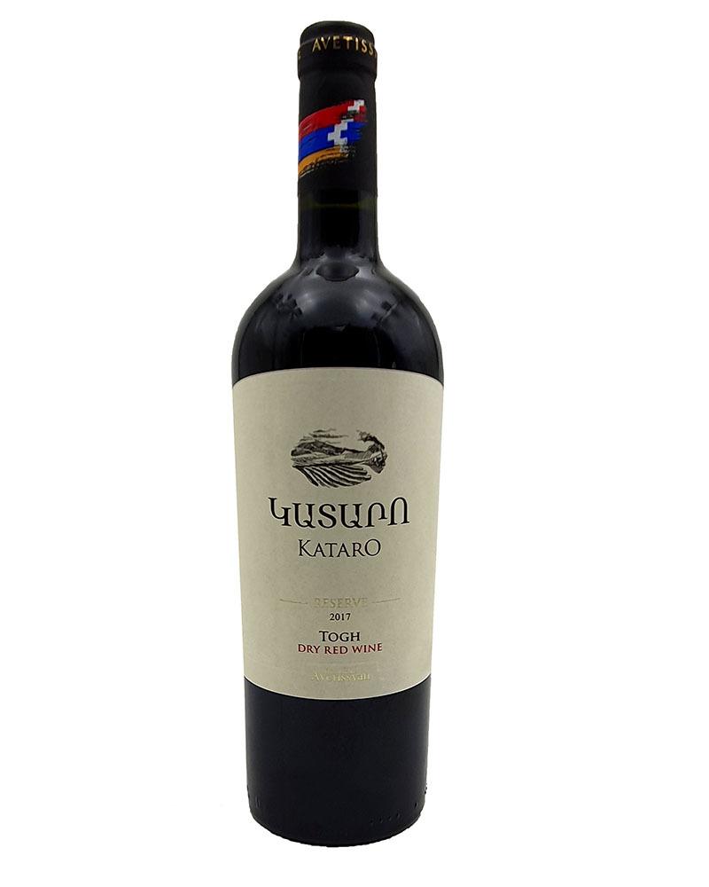 Вино Kataro Reserv Красное сухое 14,2% 0,75 л.