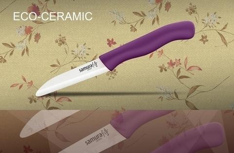 SC-0011VL Фрутоножик керамический Samura Eco-Ceramic