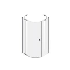 Душевое ограждение AM.PM Sensation Solo swing W30G-D90R1-200-CT-R 90х90 см правостороннее