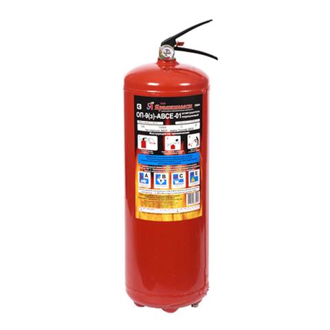 Порошковый огнетушитель ОП-9 (з) АВСЕ