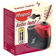 Электрическая точилка Maped Turbo Twist (1 отверстие, с контейнером)