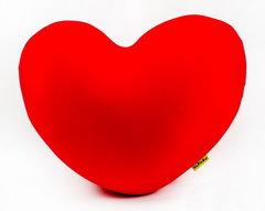 Подушка-игрушка антистресс Gekoko «Большое красное сердце» 2