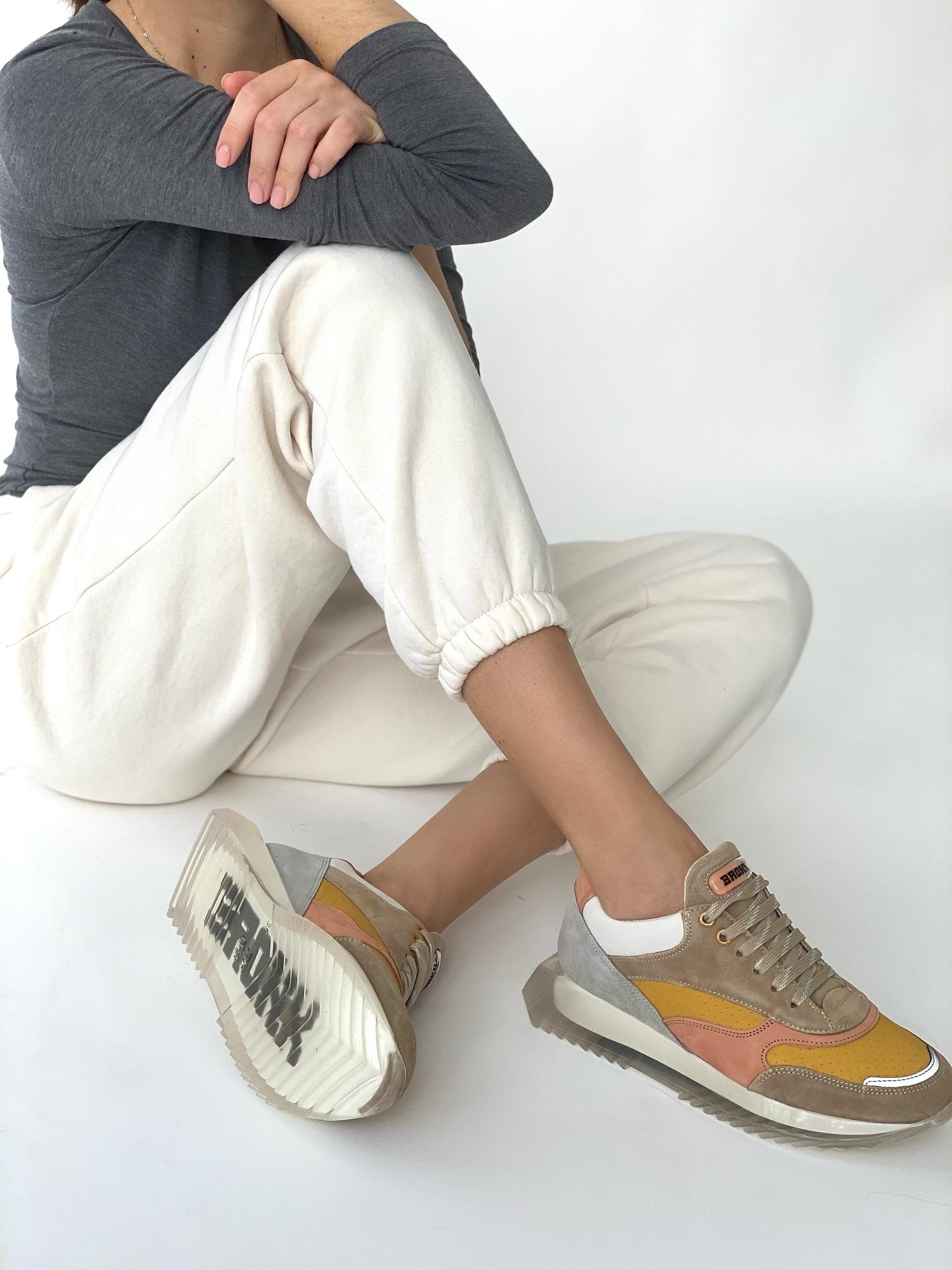 Кроссовки женские, BRONX, Linkk up (серый)