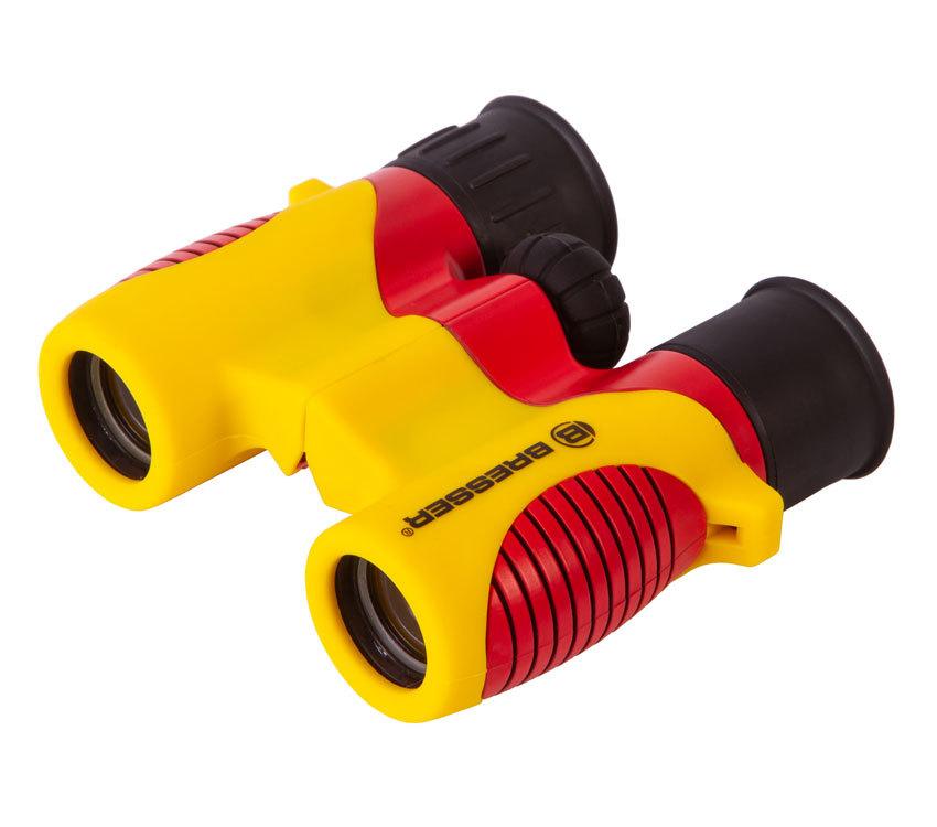 Бинокль детский Bresser Junior 6x21 желтый - фото 1