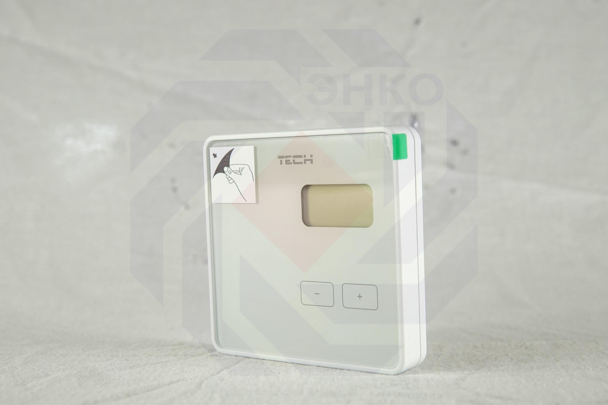 Термостат комнатный TECH STEROWNIKI ST-R-8B белый