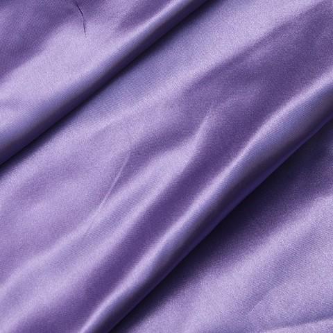 Шелк искусственный 100% полиэстер 220 см цвет сиреневый