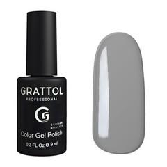 Grattol, Гель-лак 019, Pastel Grаy, 9 мл
