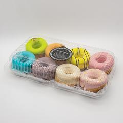 Пончики (донатсы) в протеиновой глазури 8 шт