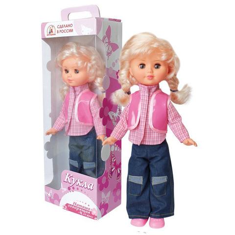 Кукла Наташа 47см говорящая 10 фраз/10104