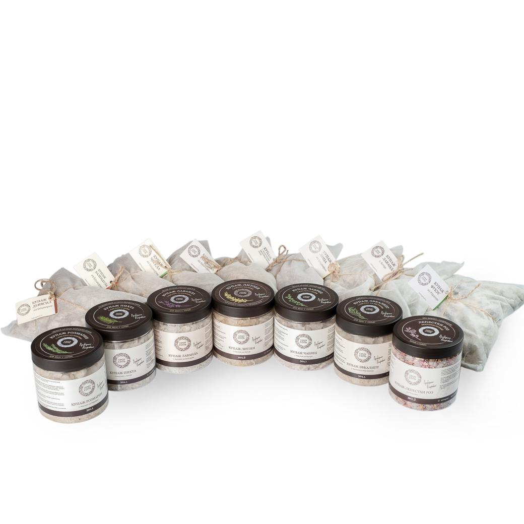 Набор базовых купажей - 16 шт. Травы и эфирные масла