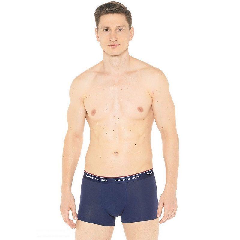 Мужские трусы боксеры темно-синие Tommy Hilfiger Regular Navy