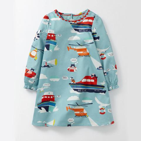 Платье для девочки Malwee Море