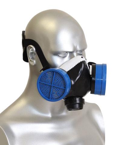 Полумаска Бриз-2201 (РПГ) противогазовая с фильтром К1 х40)