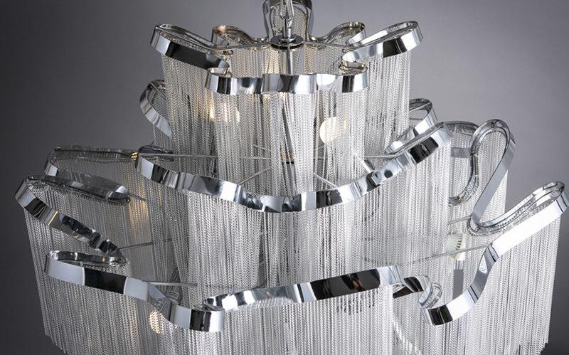 Подвесной светильник копия  Stream by Terzani (серебряный)