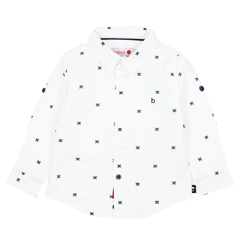 Рубашка Boboli детская Черепки