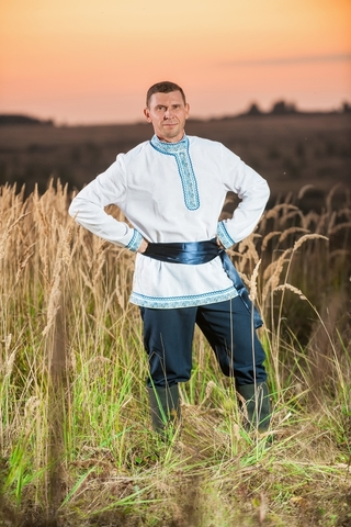Мужской русский костюм Русское поле
