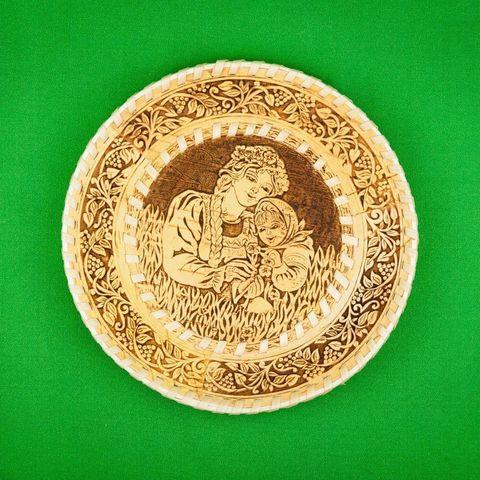 Тарелка круглая Парочка