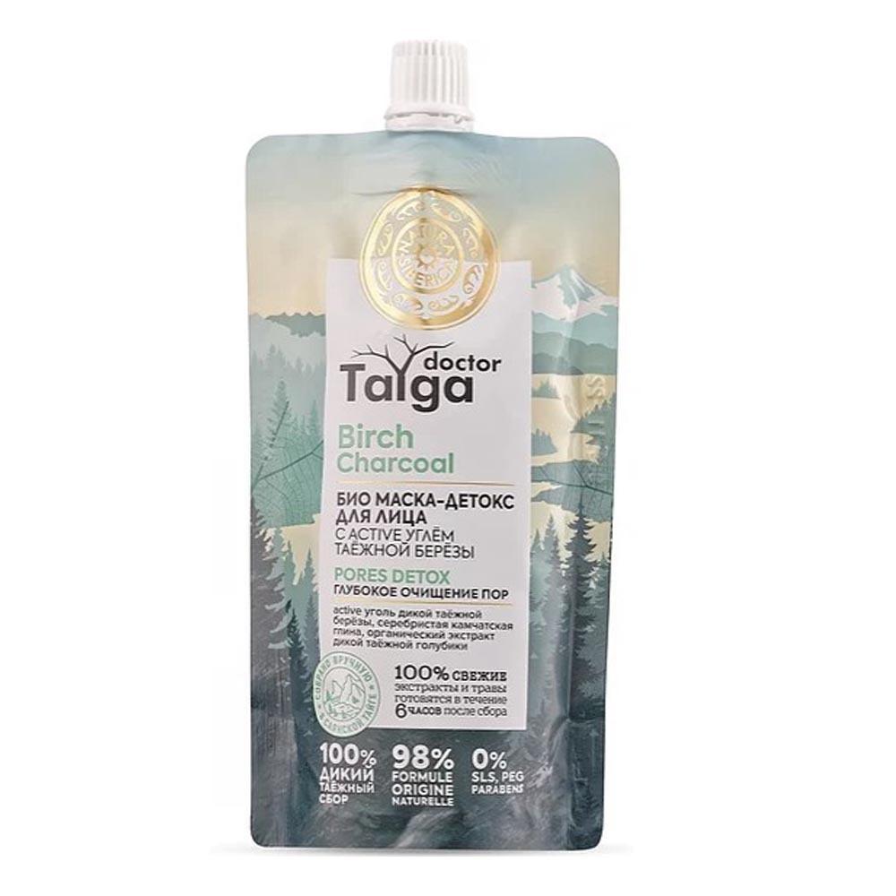 Маска-детокс для лица Био глубокое очищение пор Doctor Taiga