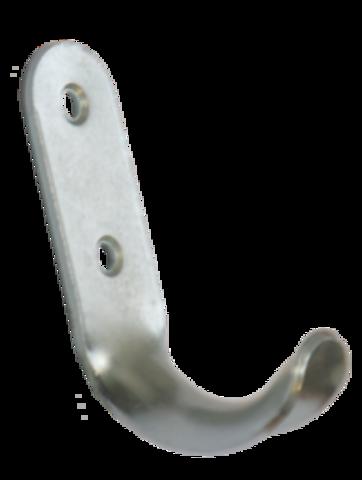 Крючок-вешалка  1-рожковый  цинк  № 7 Кунгур