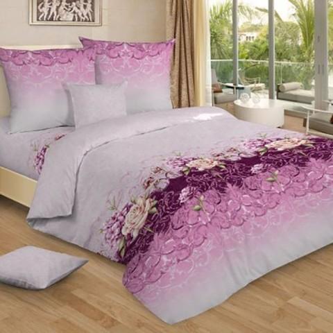 Бязь 120 гр/м2 220 см 7243/2 Лиловые сны цвет розовый