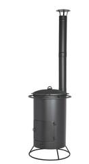 Купить Печь с трубой под чугунный казан 25 литров (Везувий)