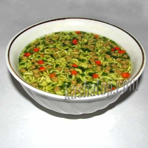 Суп куриный с вермишелью 'Леовит', 40г