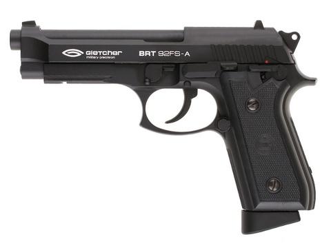 Страйкбольный пистолет BRT92FS-A металл/черный (Беретта)