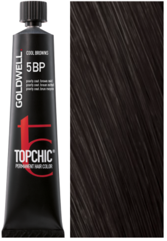 Goldwell Topchic 5BP жемчужный темный шоколад TC 60ml