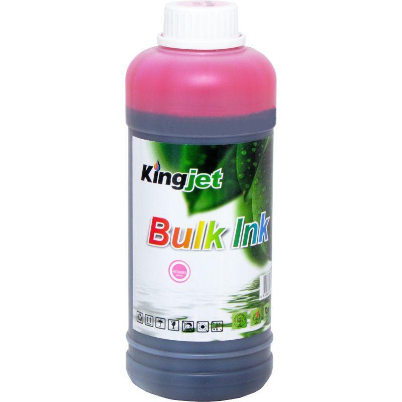 Чернила Водорастворимые KingJet@ Epson Universal Dye Ink CJDU002.500LM 500мл., светло-пурпурный (Light Magenta), на водной основе.