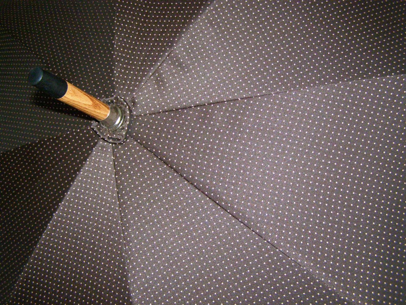 Pasotti мужской зонт-трость Punto Handle Broom (ручка из ракитника)