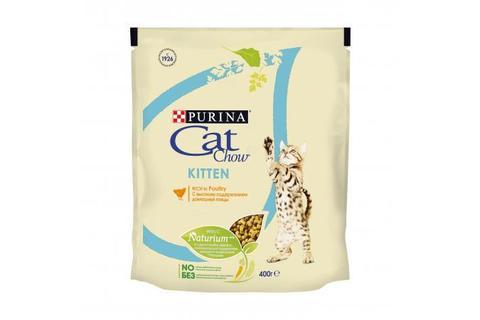 Сухой корм для котят Purina Cat Chow, домашняя птица