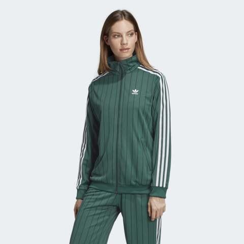 Олимпийка женская adidas ORIGINALS TRACK TOP GREEN