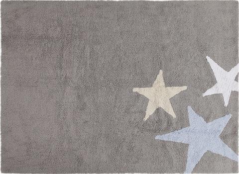 Ковер Lorena Canals Three Stars Grey-Blue (120 x 160)