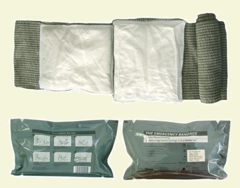 Пакет Перевязочный Индивидуальный FCP-02, 15 см, Израиль