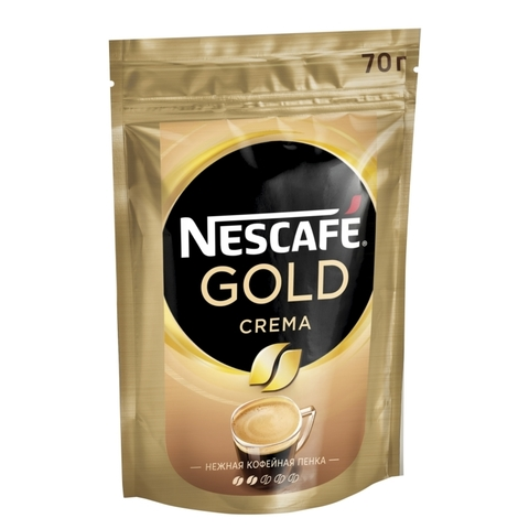 Кофе Nescafe GOLD crema 70 гр.
