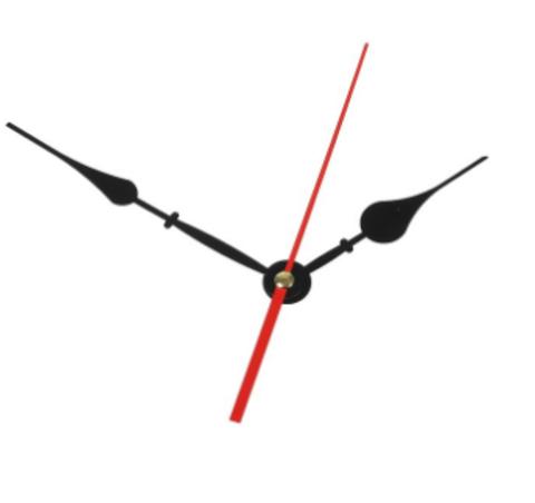 059-5145 Комплект из 3-х стрелок для часов чёрные
