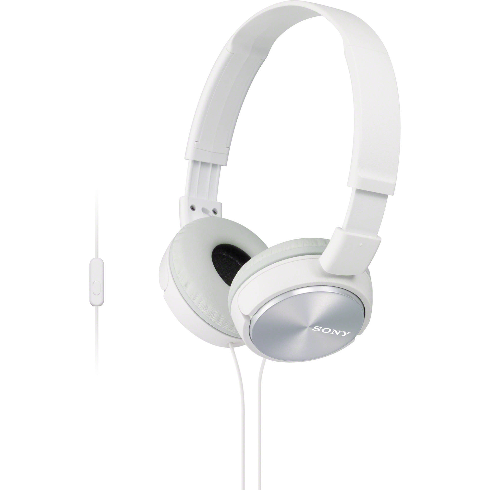 MDR-ZX310AP W наушники Sony с микрофоном, белые