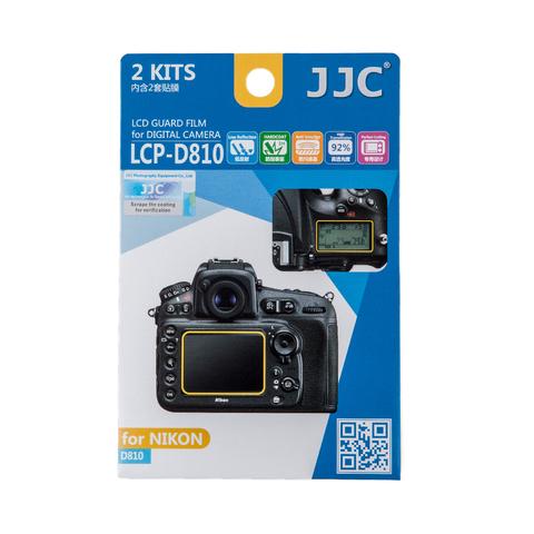 Набор защитных пленок JJC 2в1 для Nikon D810